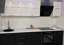 Фото Кухня-на-заказ-черная